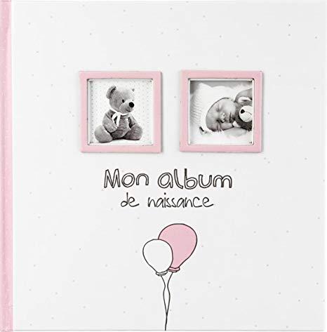 album de naissance fille