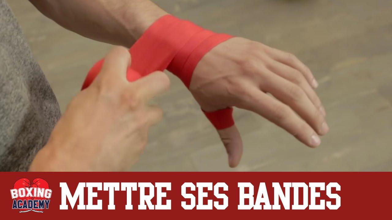 bandage boxe