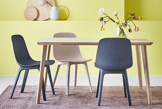 chaises de cuisine et de salle à manger