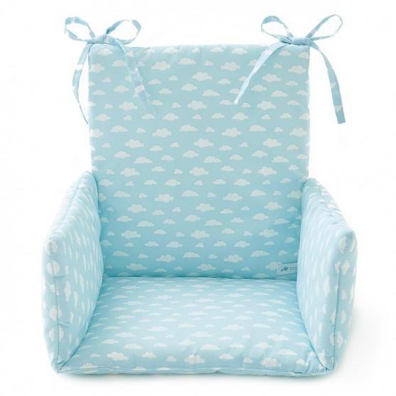 coussin de chaise haute