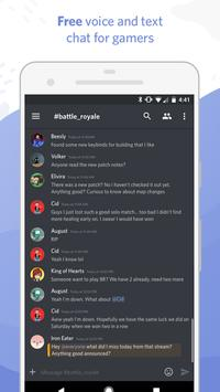 discord chat pour gamers