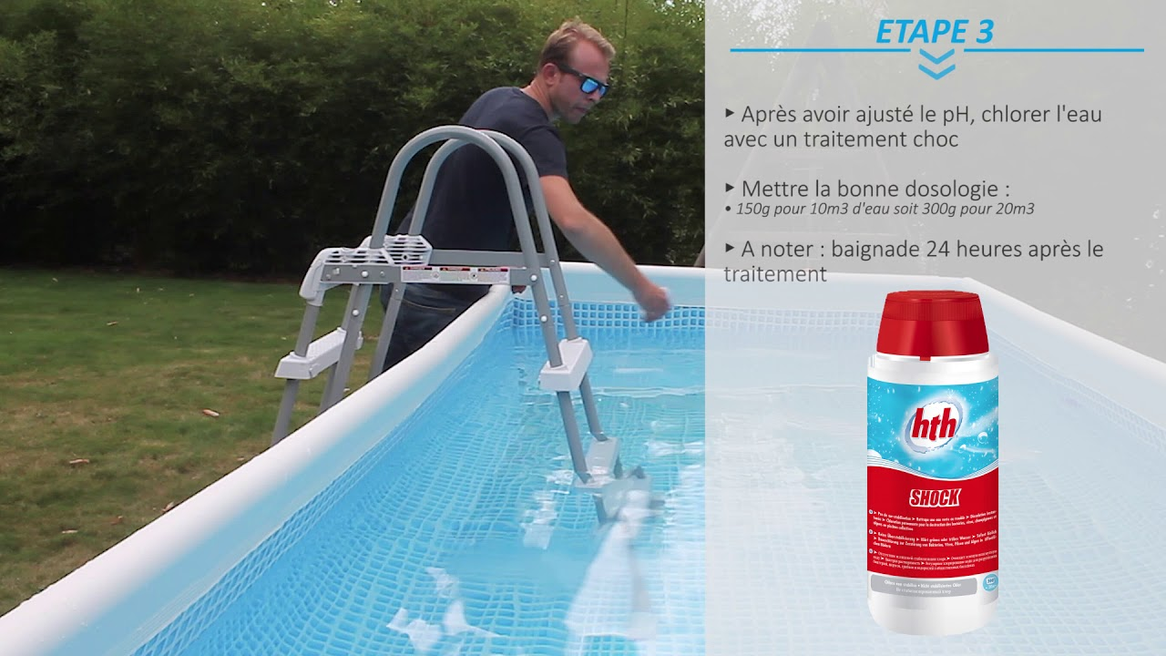 entretien piscine hors sol