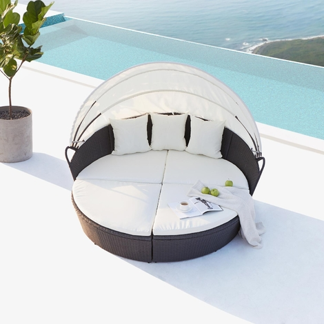 lit de jardin