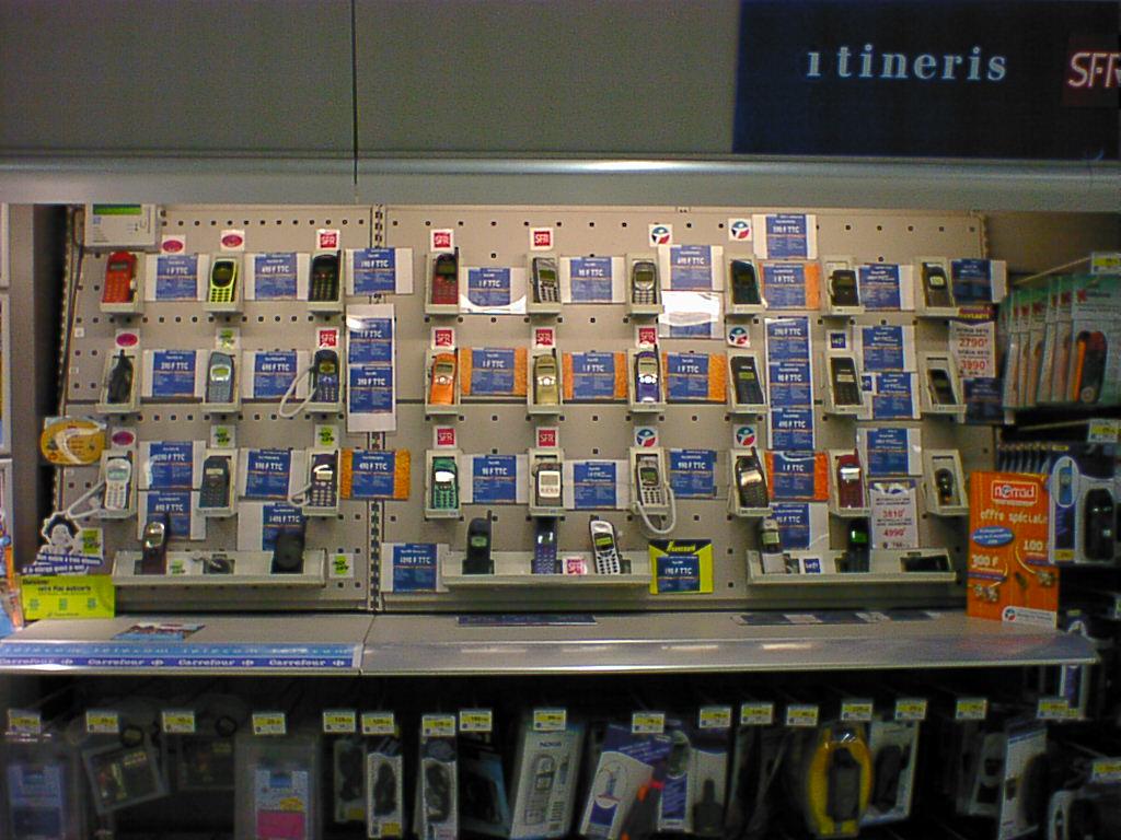 magasin de téléphonie mobile