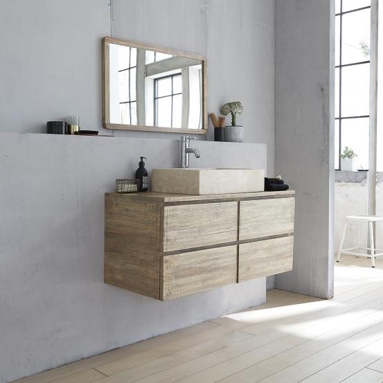 meuble salle de bain a suspendre