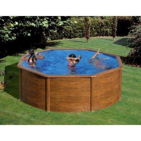 piscine hors sol acier ronde