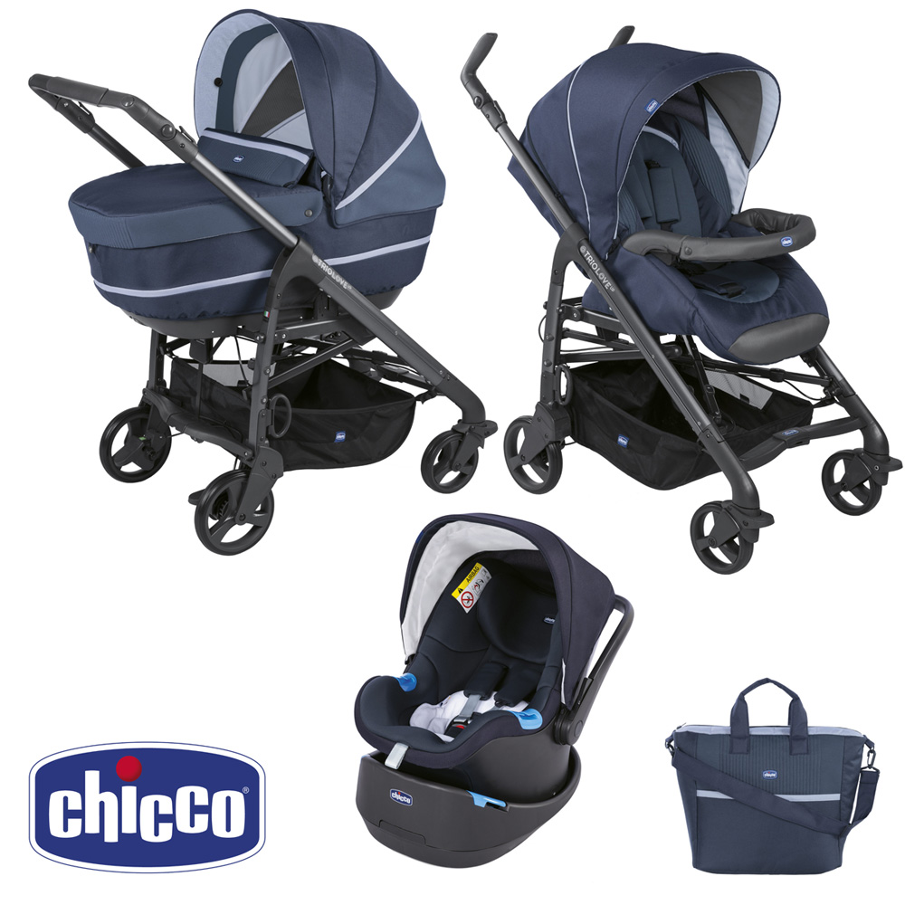 poussette trio love chicco