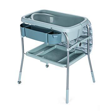 table à langer baignoire chicco