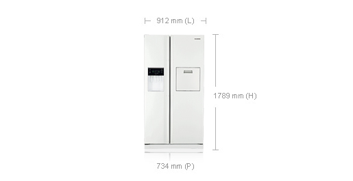 taille frigo americain