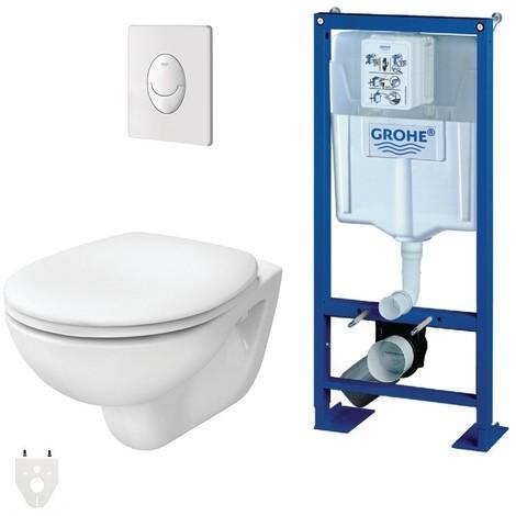 toilette suspendu grohe