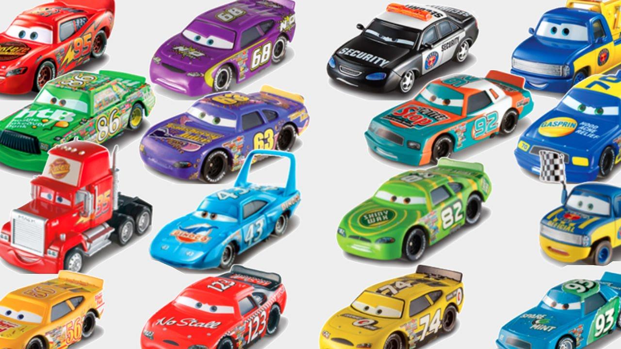 disney cars racers