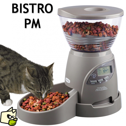 distributeur de croquettes automatique pour chat