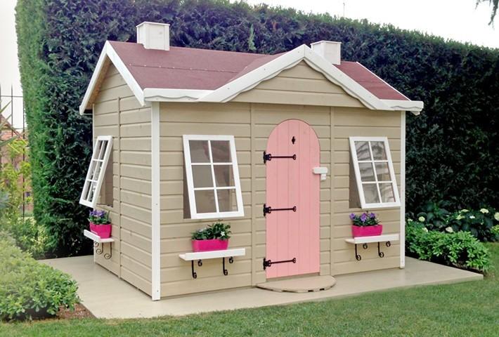 maison bois enfant