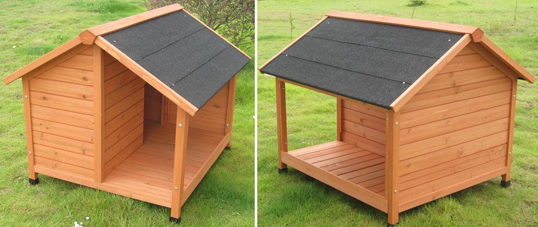 niche chien avec terrasse