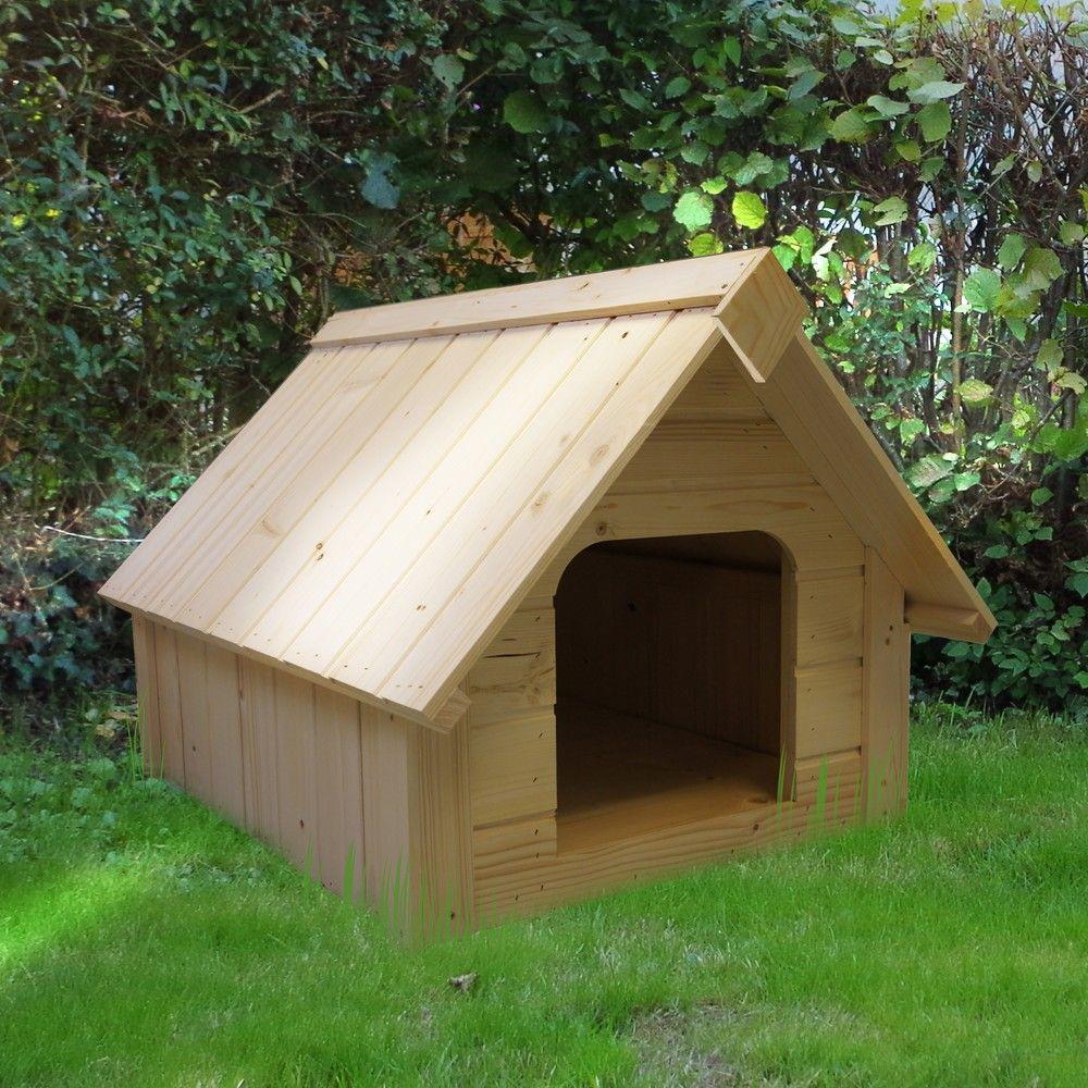 niche en bois pour chien