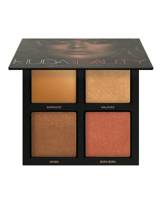 palette highlighter huda beauty