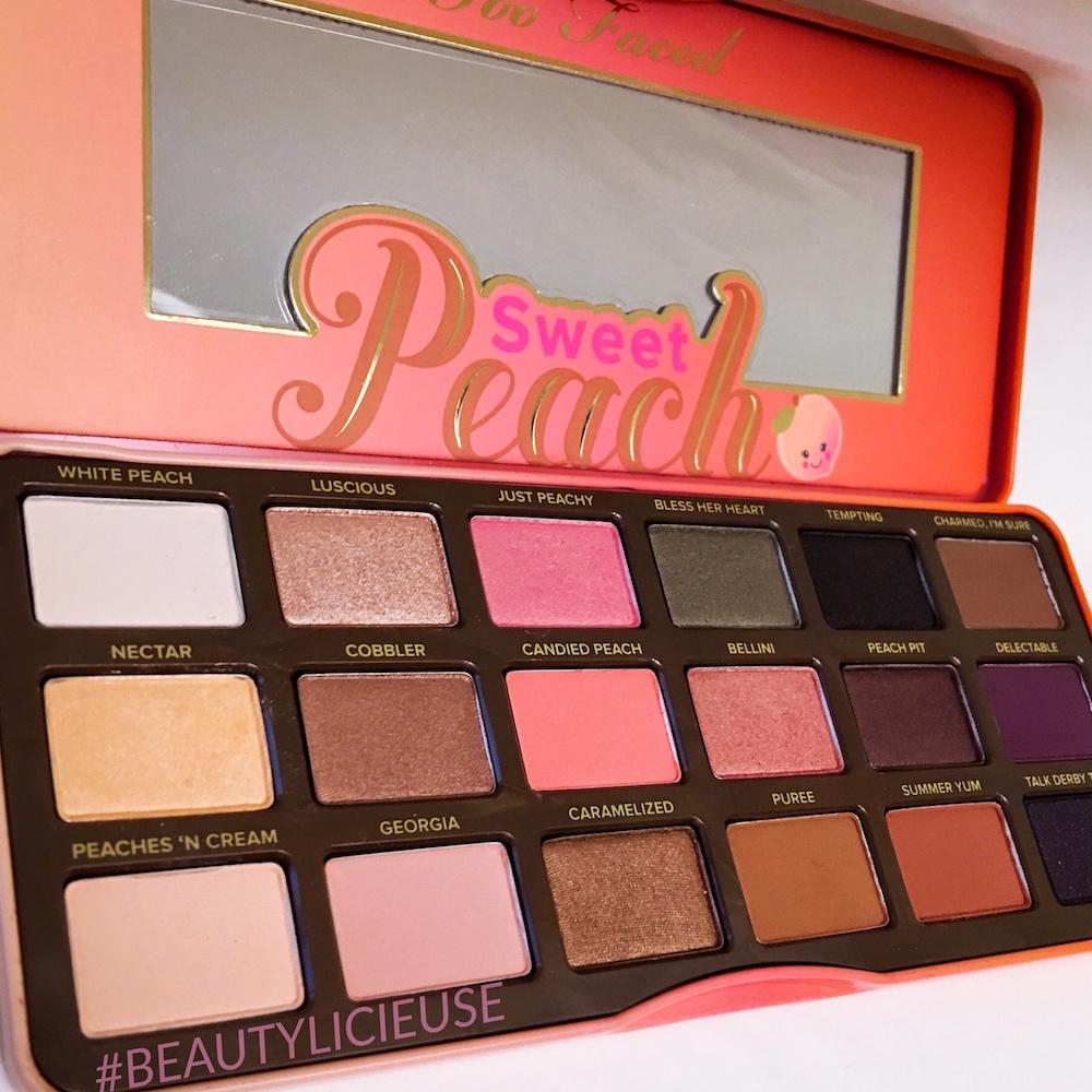 palette peach too faced