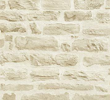 papier peint imitation pierre
