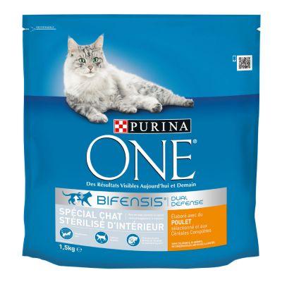 purina one chat stérilisé d intérieur