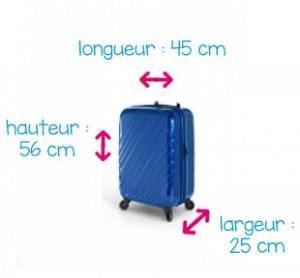valise 56 x 45 x 25