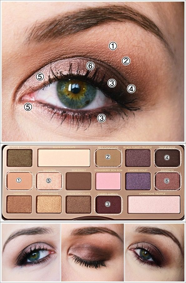 maquillage chocolate bar
