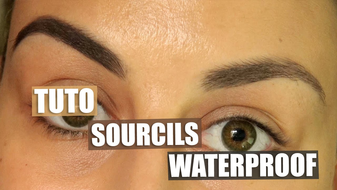 sourcil waterproof