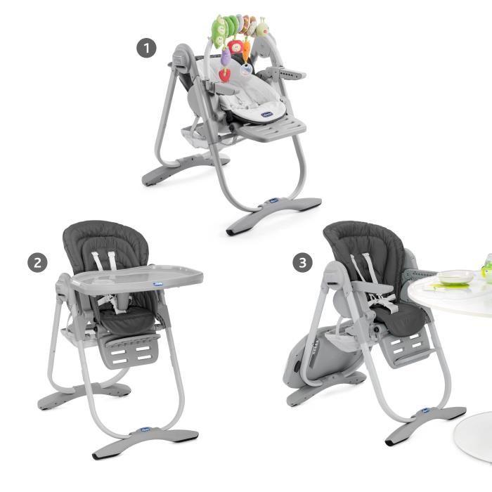 chaise haute évolutive chicco polly magic