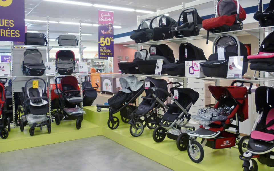magasin poussette bébé