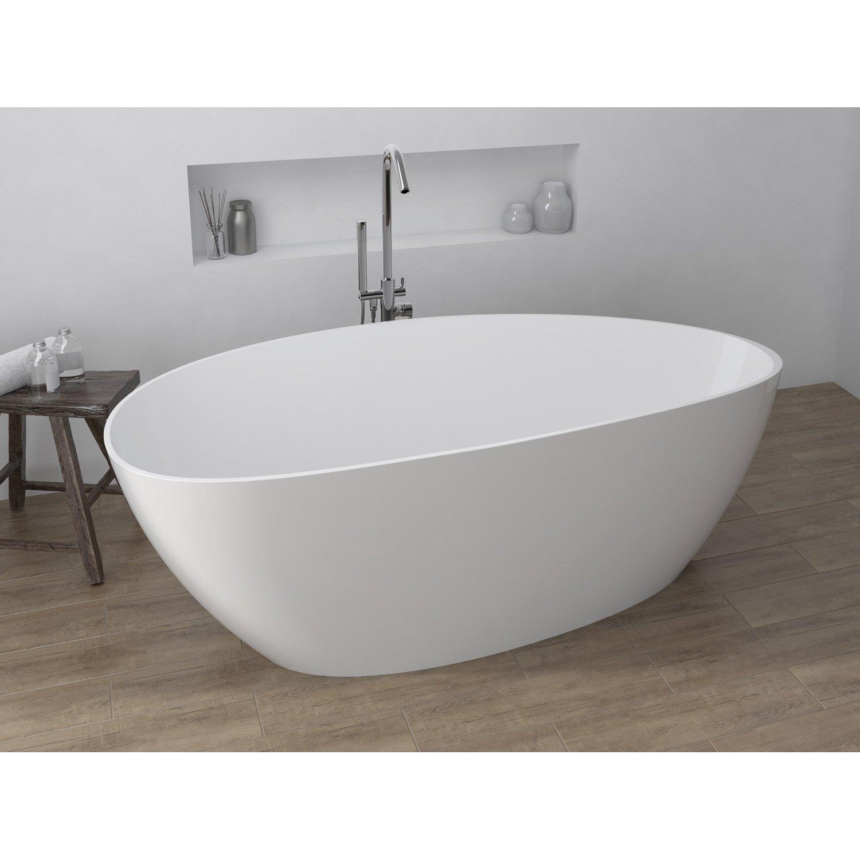 baignoire ovale