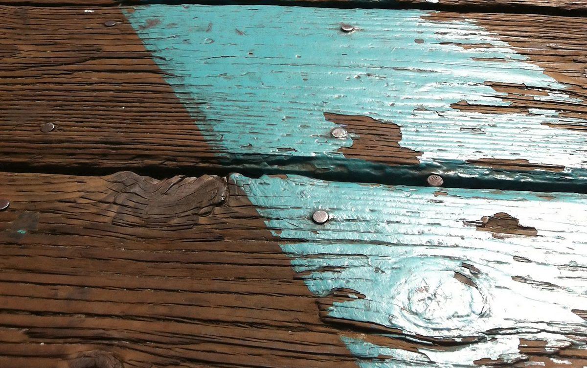 peinture sur bois