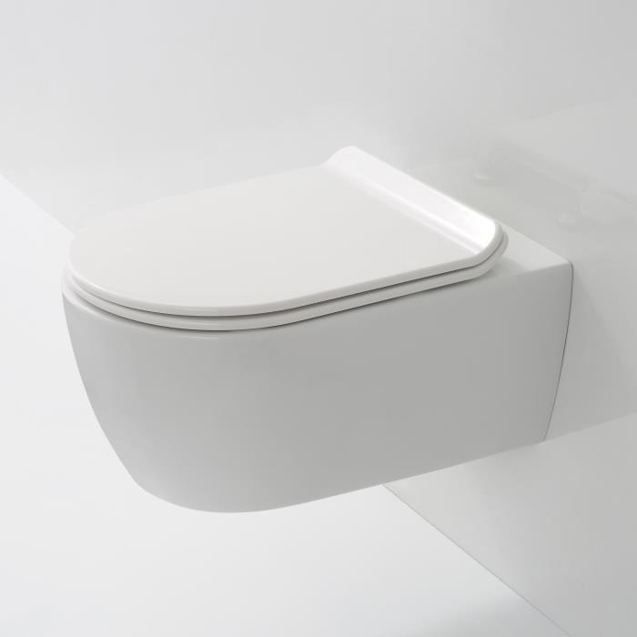 wc suspendu sans bride